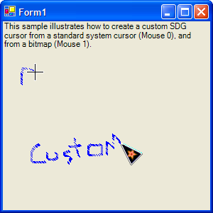 how to create custom cursor